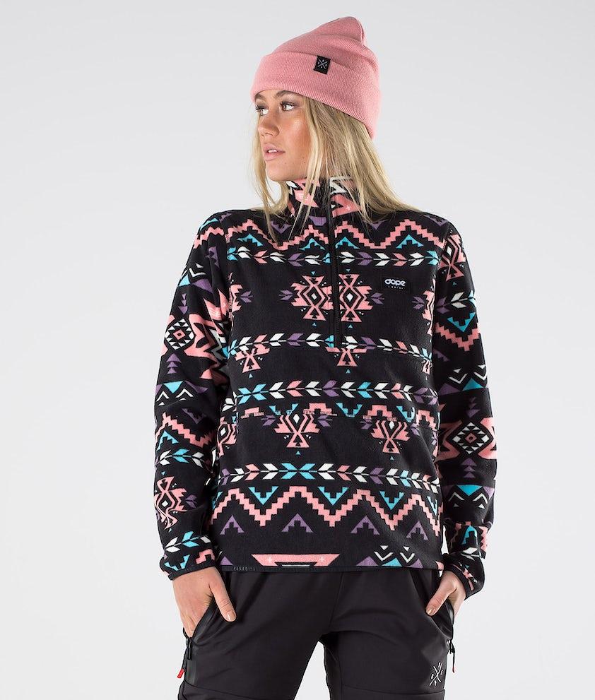 Dope Loyd W Fleecegenser Inka Pink