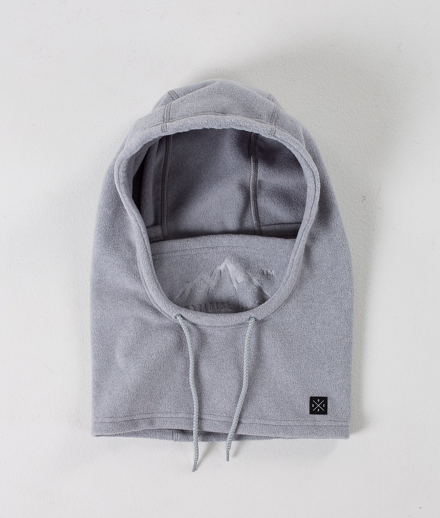 Dope Cozy Hood Ansiktsmask Light greyel