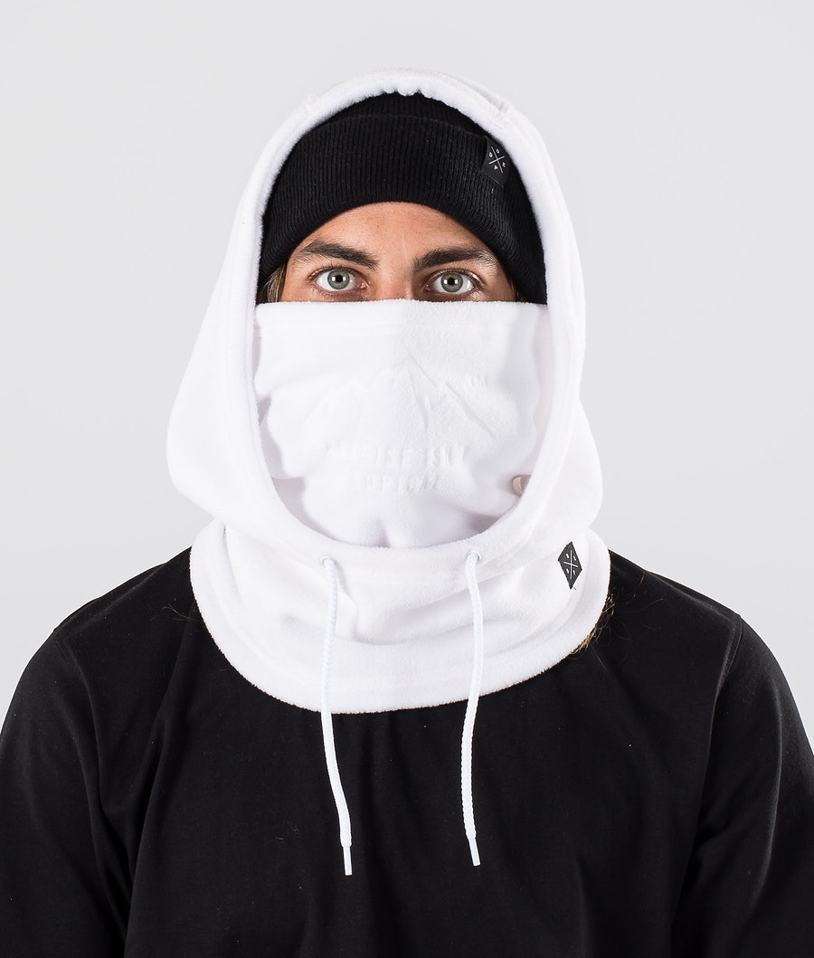 Dope Cozy Hood Scaldacollo White