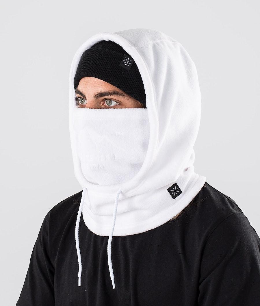 Dope Cozy Hood Ansiktsmask White
