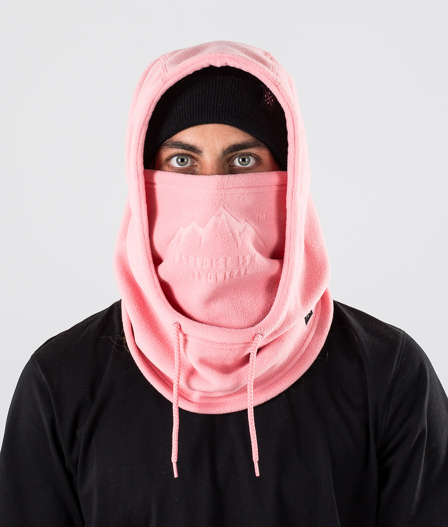 Dope Cozy Hood Kasvosuoja Pink