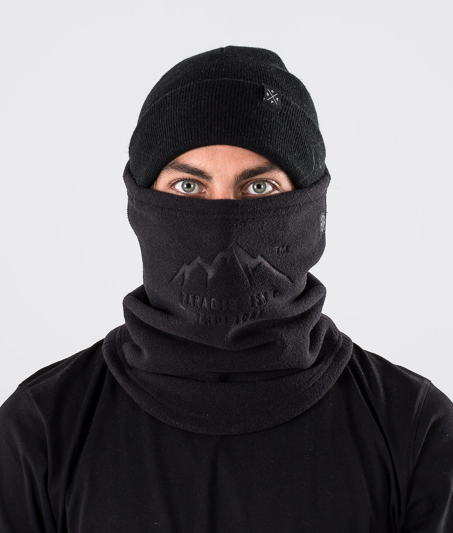 Dope Cozy Tube Facemask Black