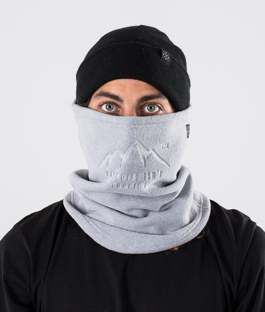 Dope Cozy Tube Facemask Light Grey Melange