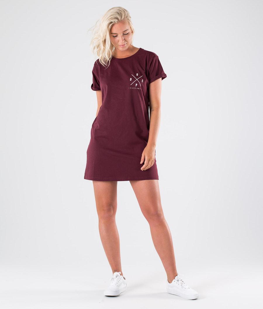 Dope 2X-UP Dress Kleid Burgundy