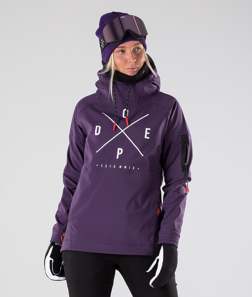 Dope Rambler MTE W Snowboardjacke Grape