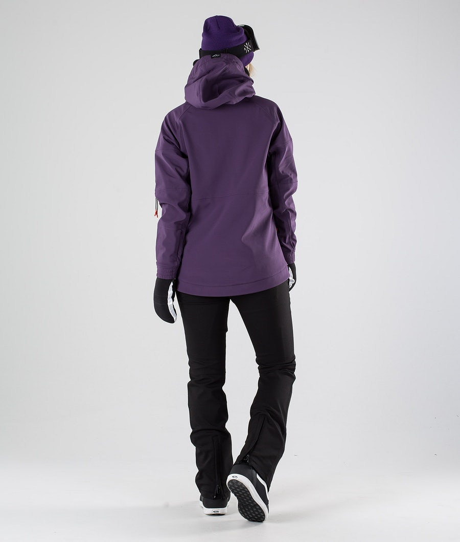 Dope Rambler MTE W Snowboardjacke Damen Grape