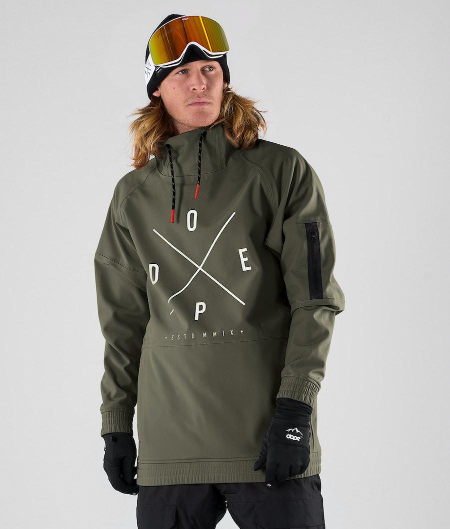 Dope Rambler MTE Veste de Snowboard Green