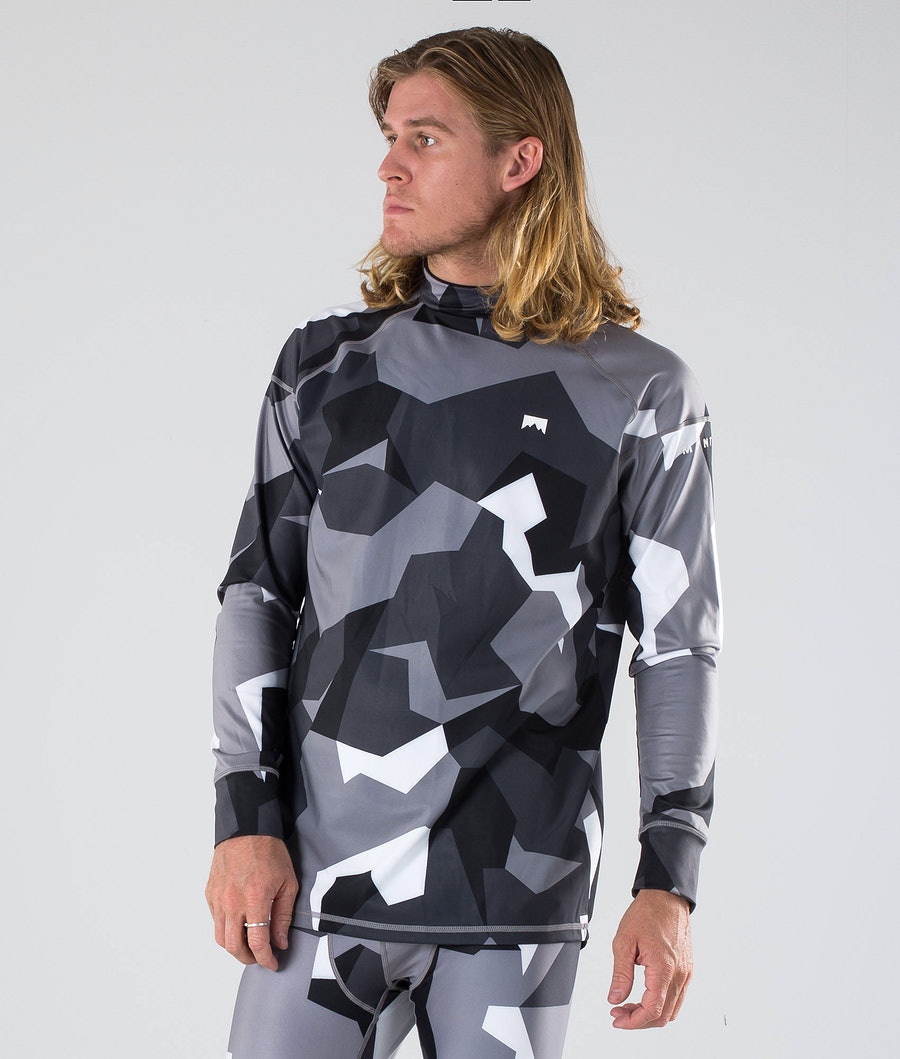 Montec Zulu Base Layer Top Arctic Camo