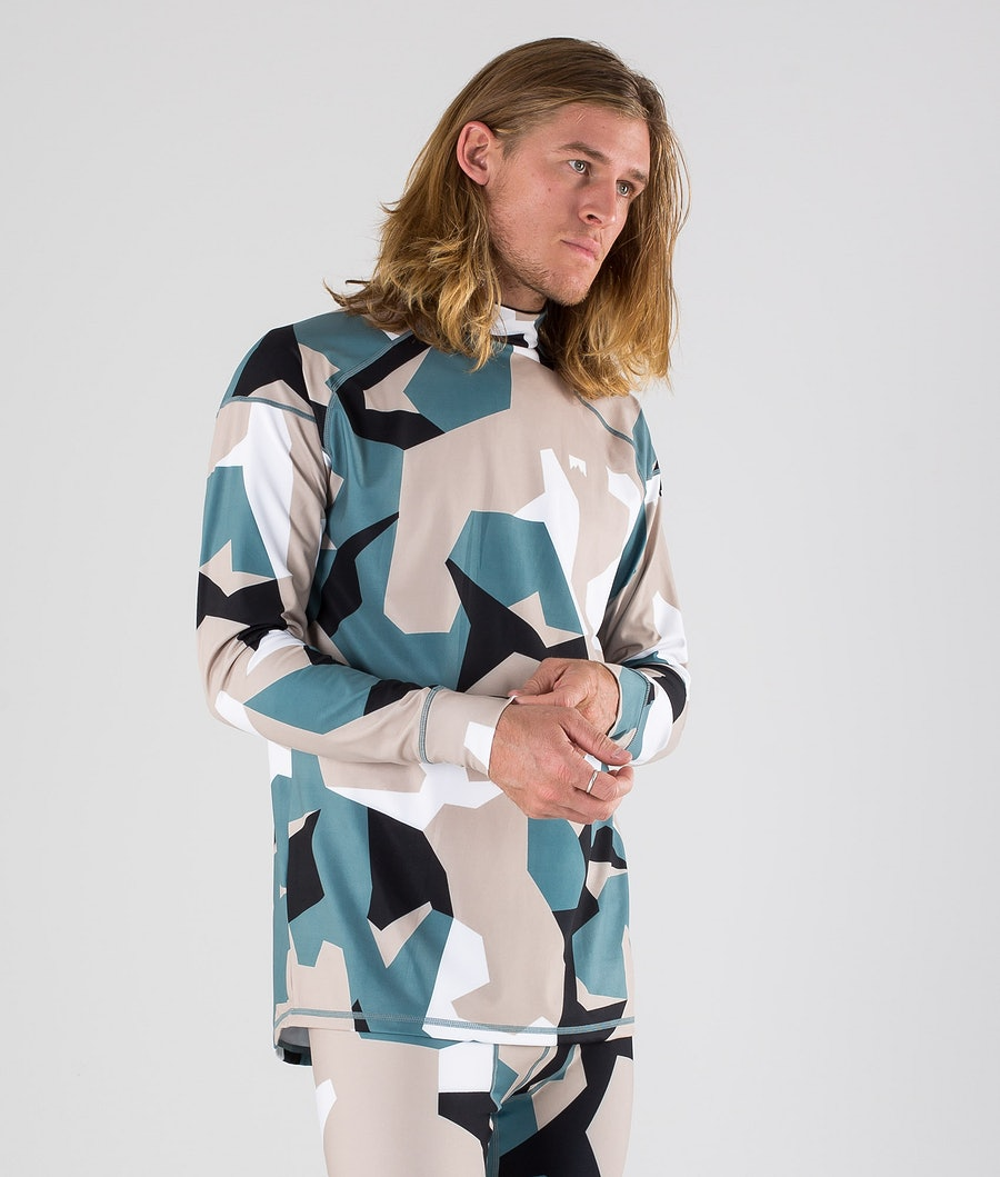 Montec Zulu Tee-shirt thermique Atlantic Camo
