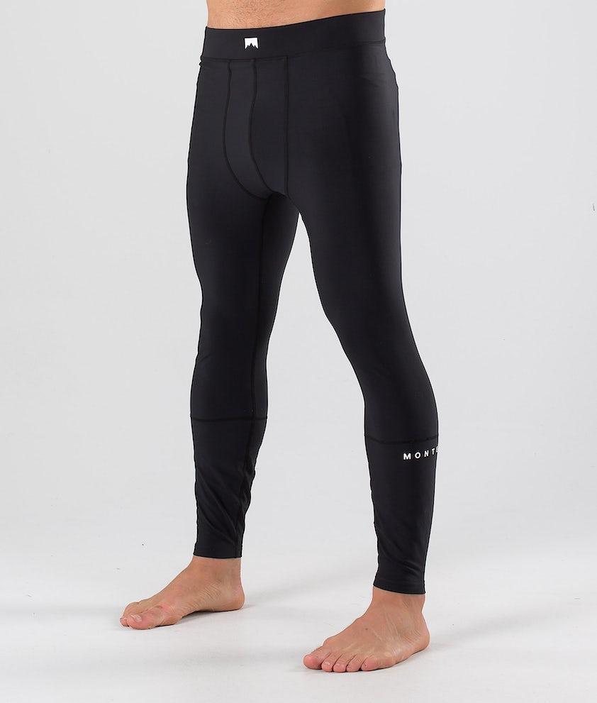 Montec Zulu Pantaloni Termici Black