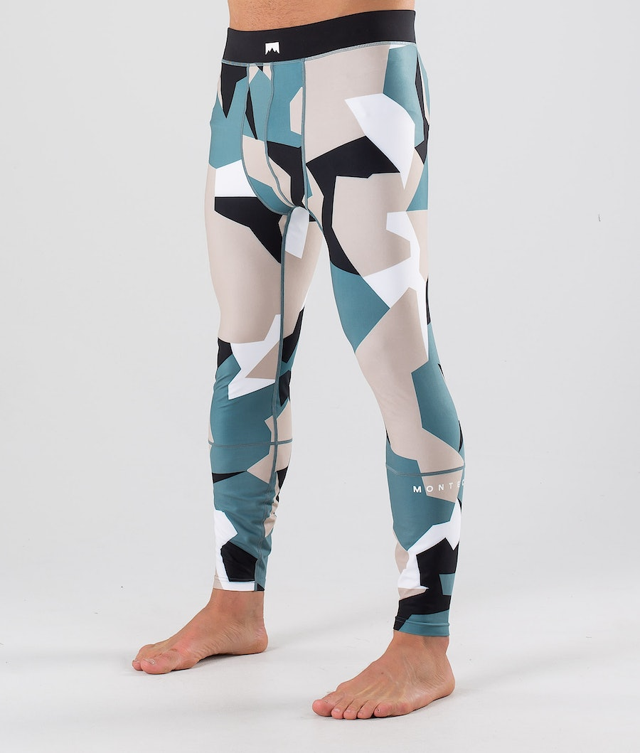 Montec Zulu Base Layer Pant Atlantic Camo