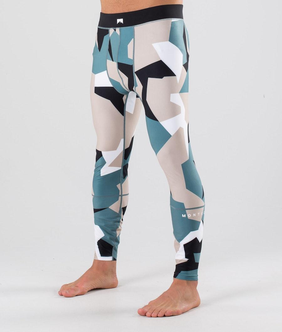 Montec Zulu Pantaloni termici Atlantic Camo