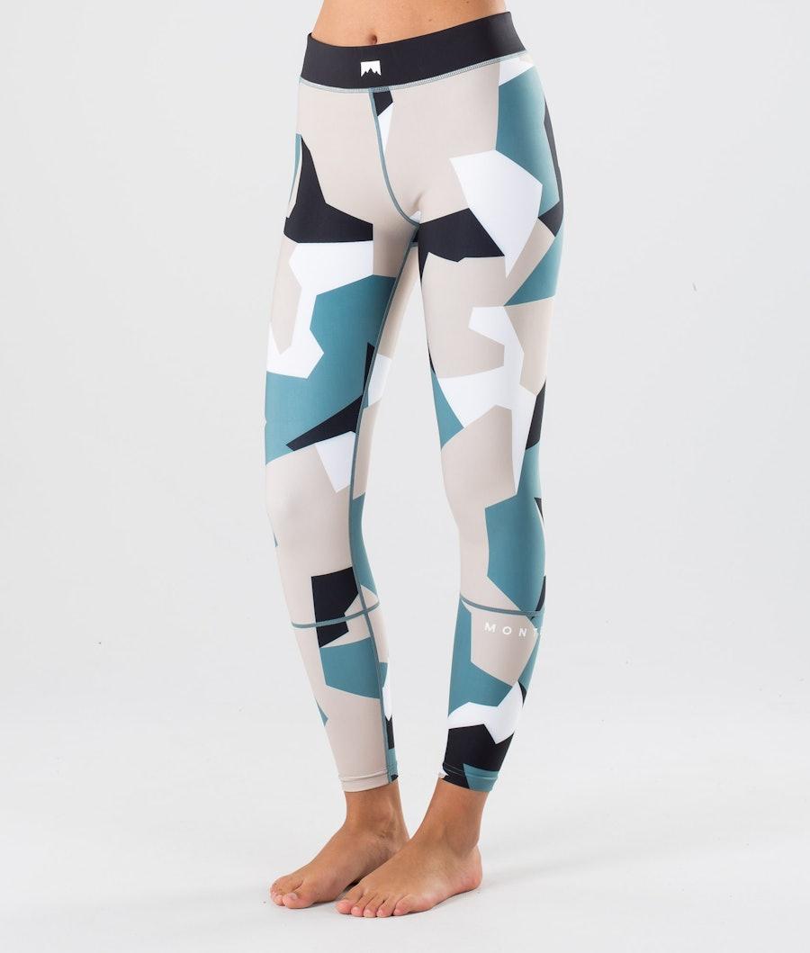Montec Zulu W Pantalon thermique Atlantic Camo