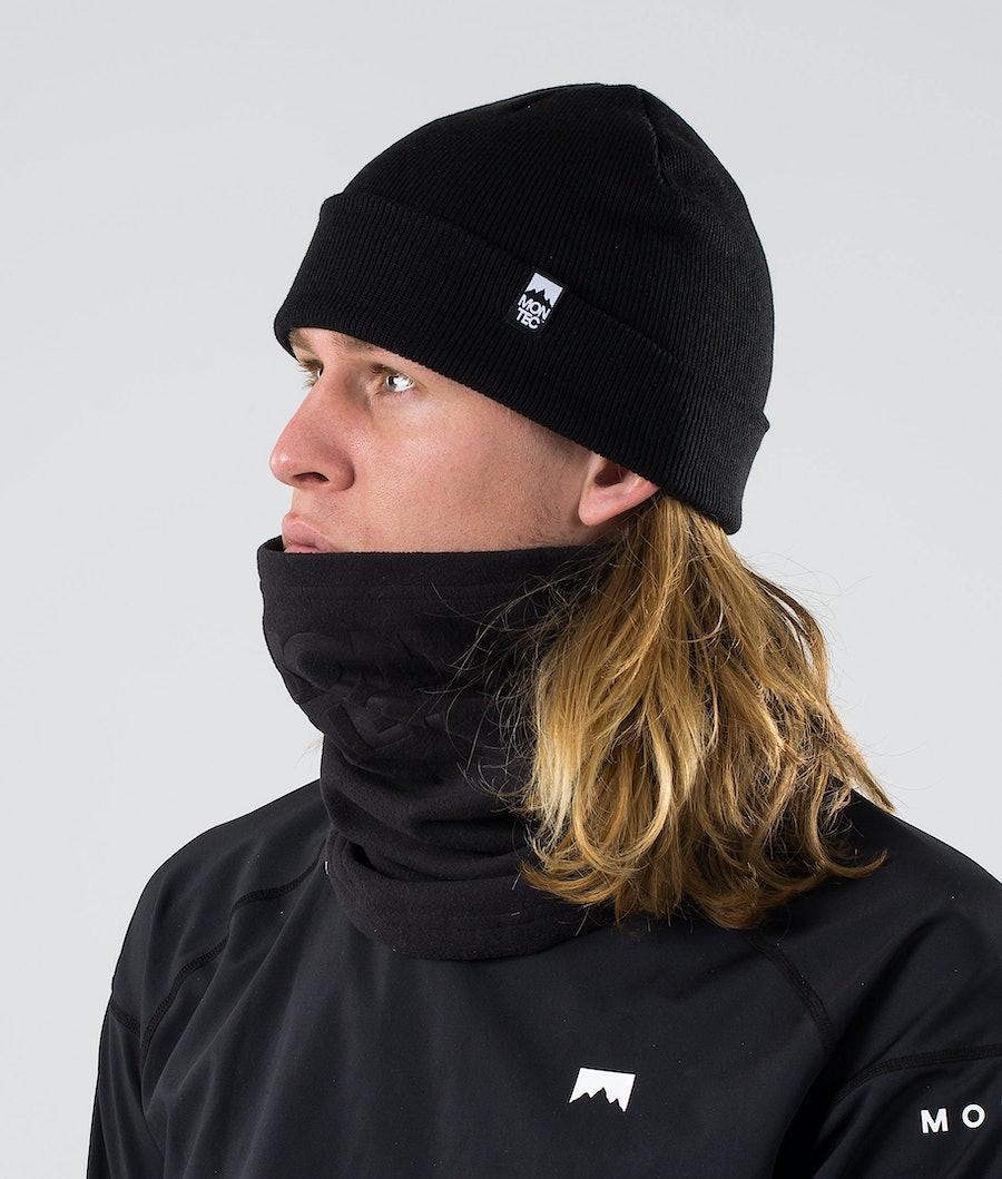 Montec Echo Tube Ansiktsmask Black