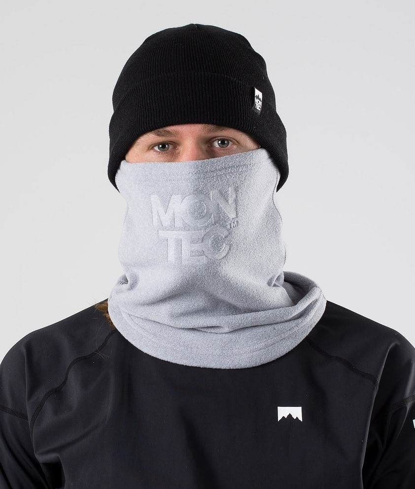 Montec Echo Tube Facemask Grey Melange