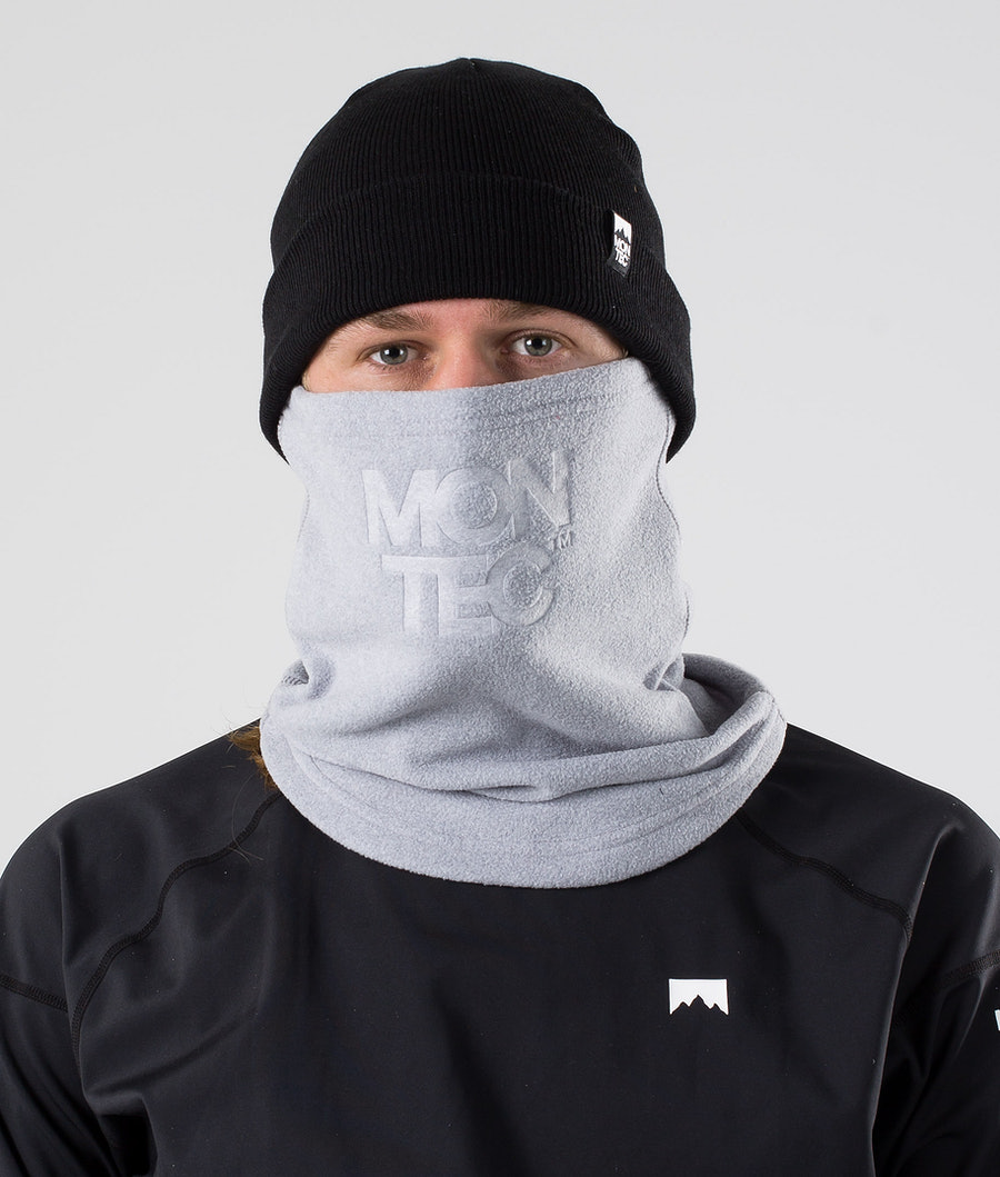 Montec Echo Tube Facemask Greyelange