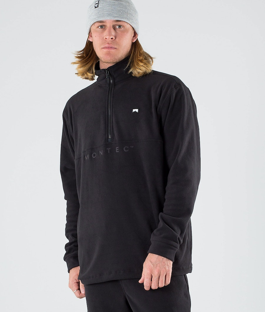 Montec Echo Fleece Sweater Black