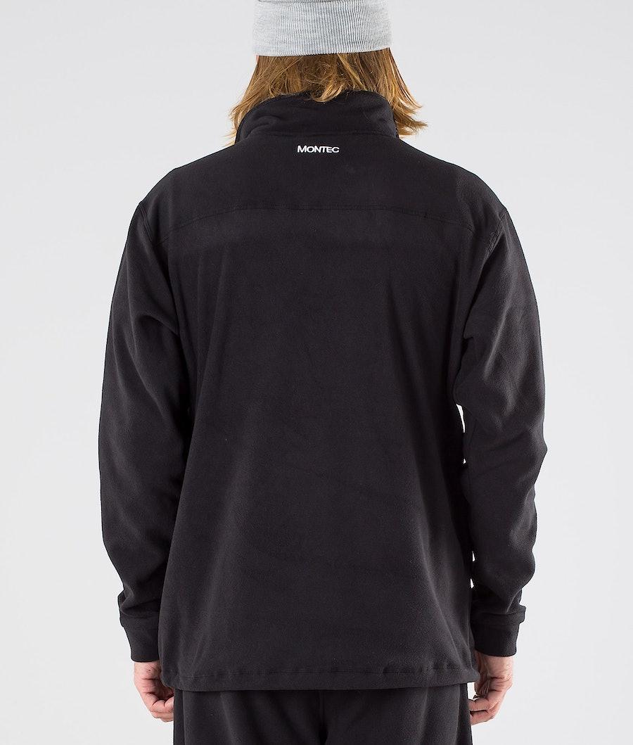 Montec Echo Fleecepullover Black