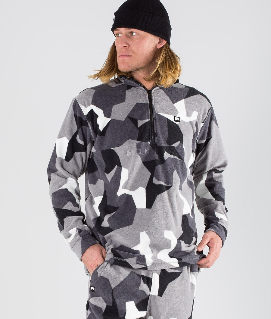 Montec Echo Fleece Sweater Arctic Camo