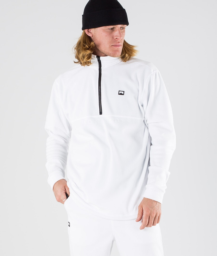 Montec Echo Fleece Trui White