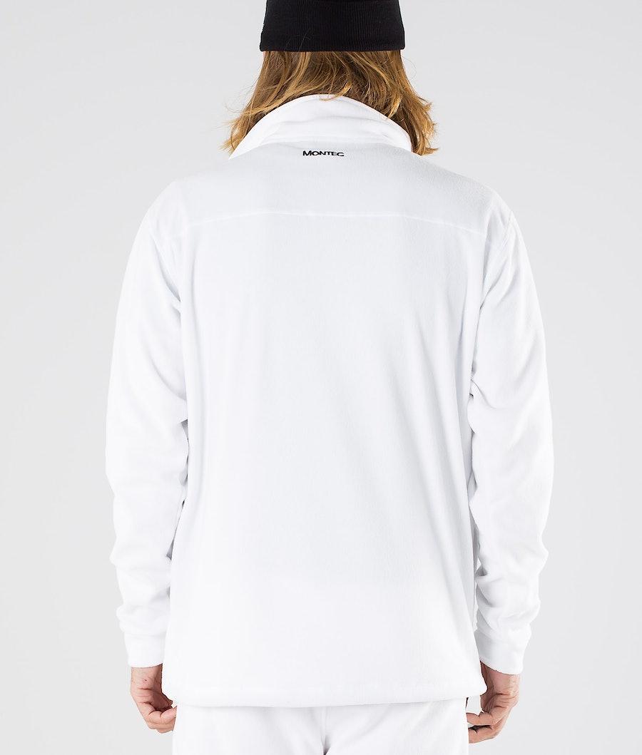 Montec Echo Fleecepullover White