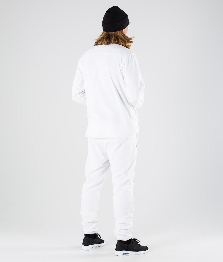 Montec Echo Fleecetröja White