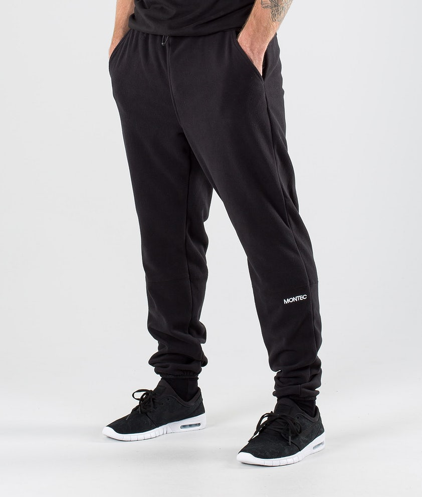 Montec Echo Fleece Pants Black