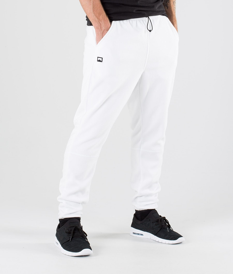 Montec Echo Fleece Pants White