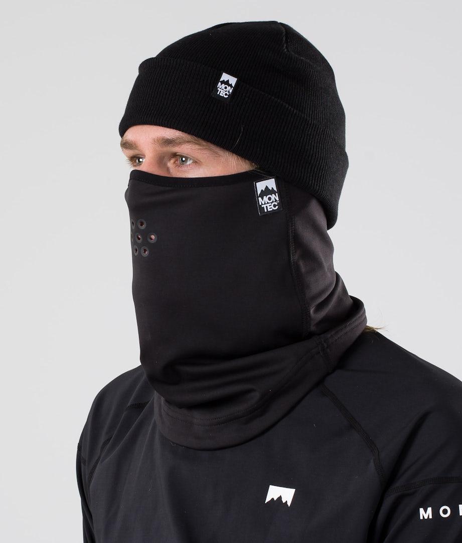 Montec Ice Tube Masque Black