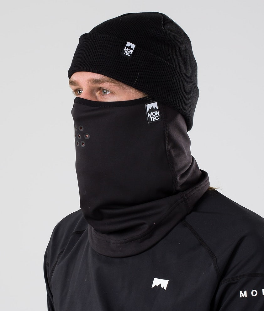 Montec Ice Tube Facemask Black
