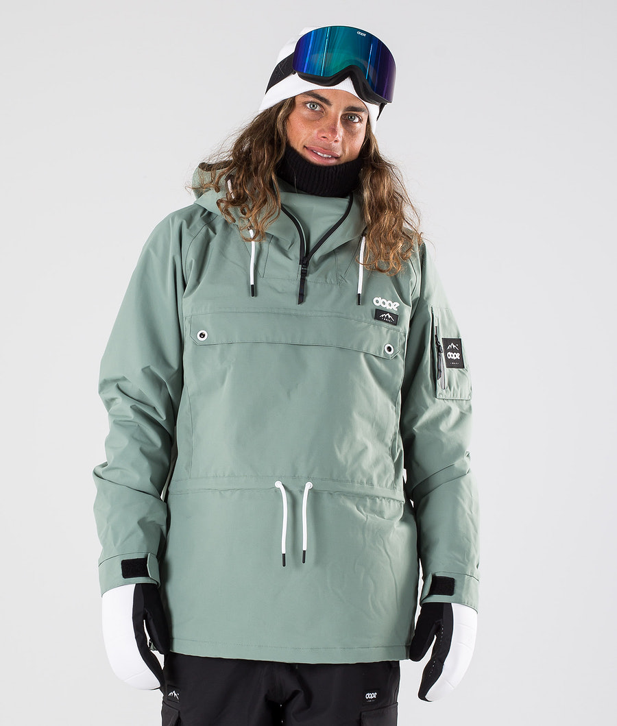 Dope Annok Snowboard Jacket Faded Green