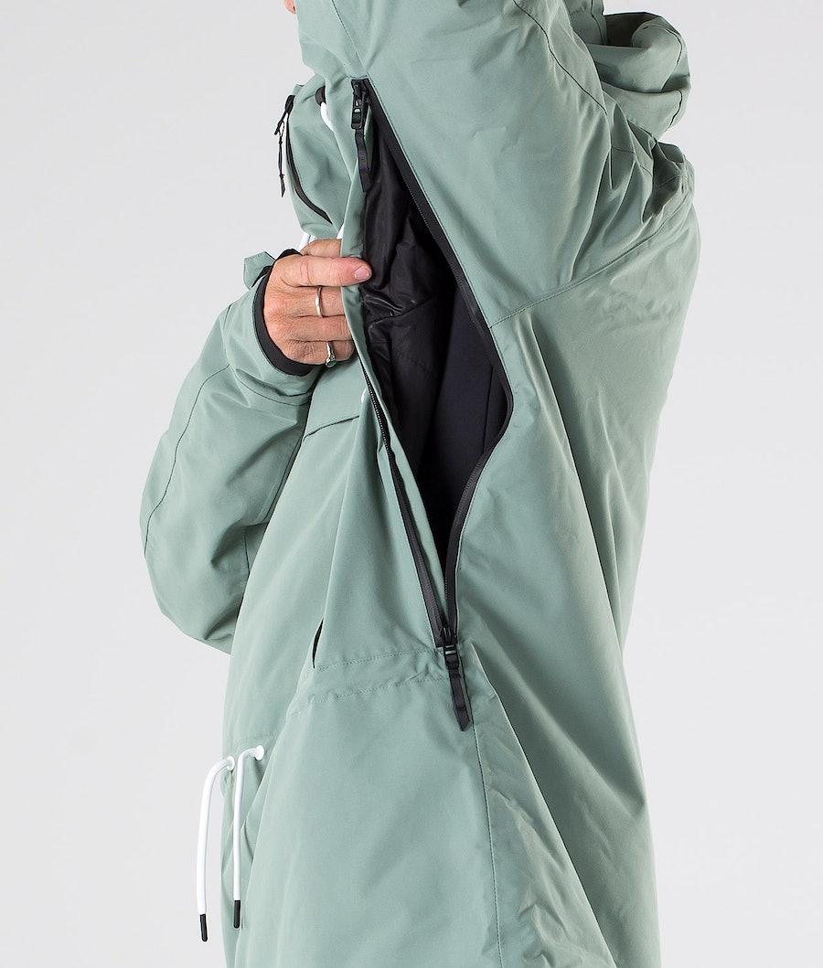 Dope Annok Snowboard Jacket Faded Green