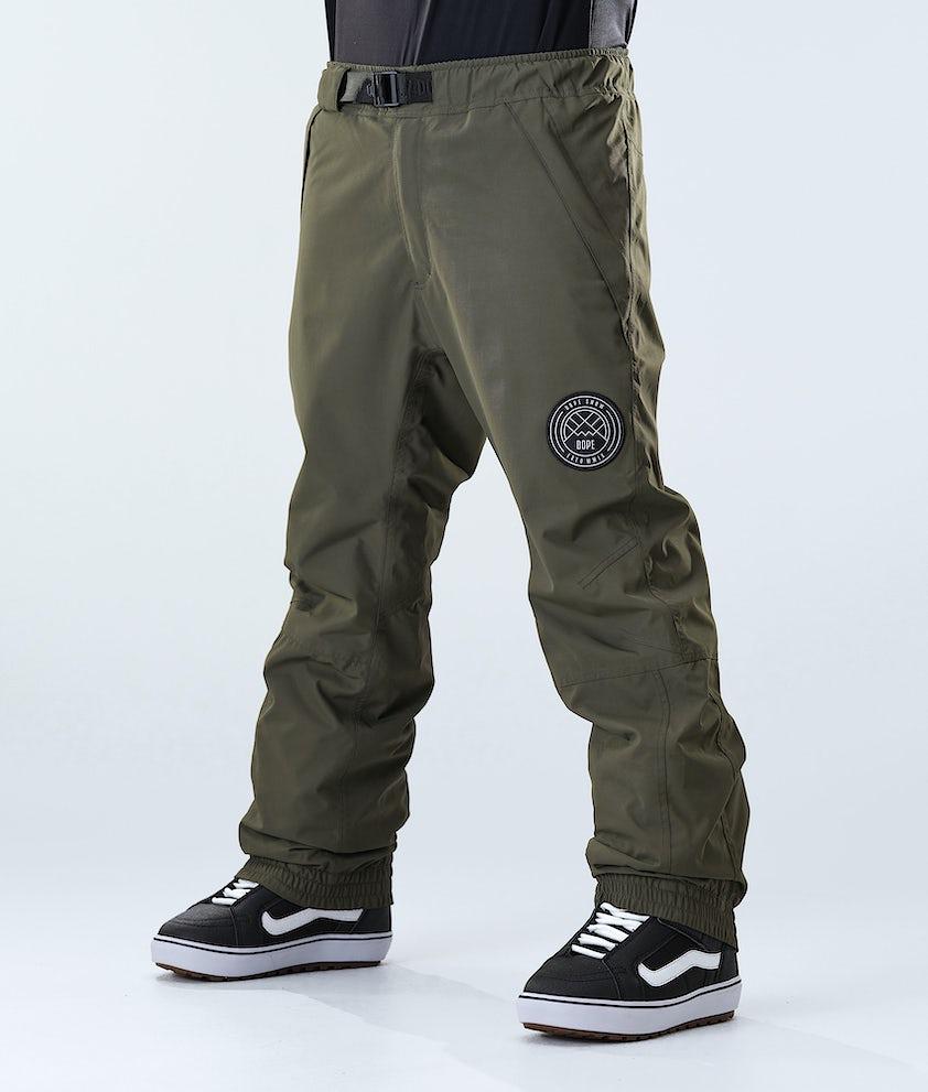 Dope Blizzard Pantaloni da Snowboard Olive Green