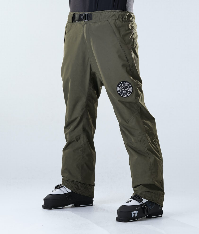 Dope Blizzard Ski Pants Olive Green