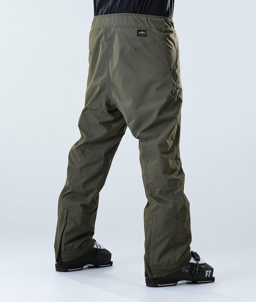 Dope Blizzard Ski Pants Olive Green