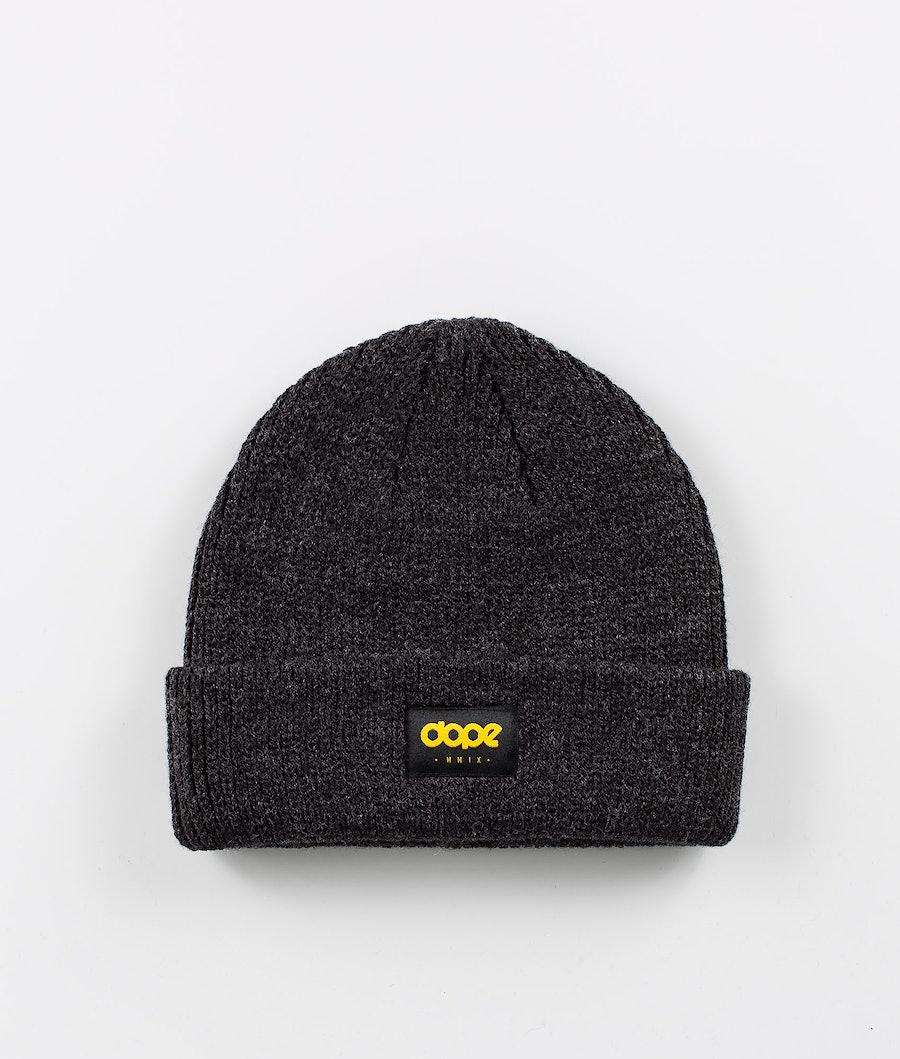 Dope OG Logo Mütze Black melange