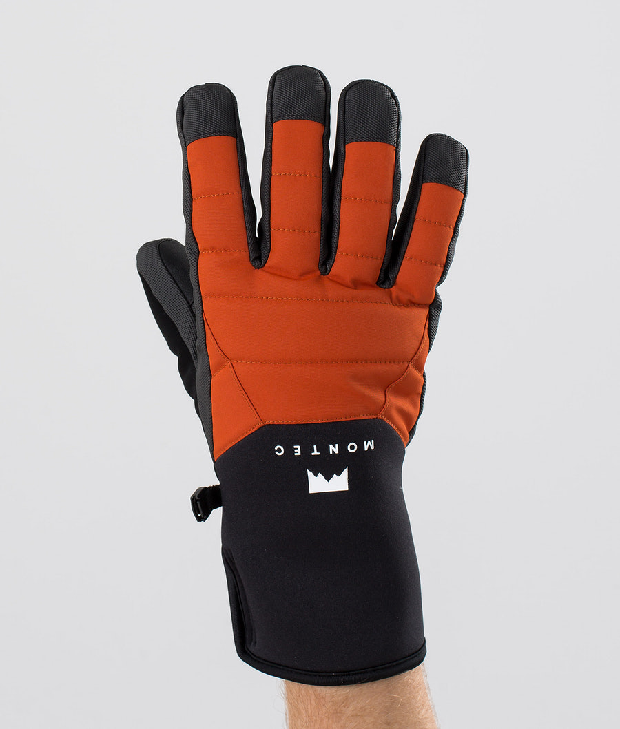 Montec Kilo Glove Ski Gloves Clay