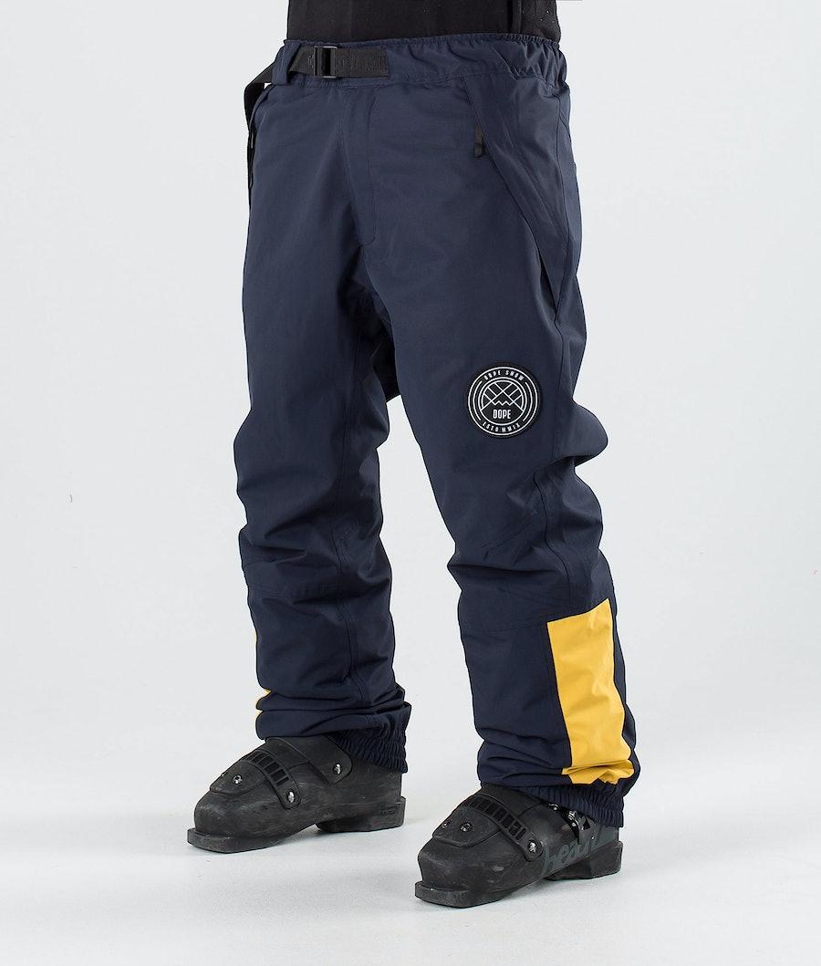 Dope JT Blizzard Pantalon de Ski Yellow Marine