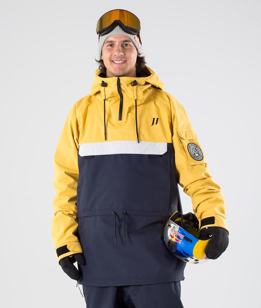 Dope JT Annok Skijakke Yellow Grey Marine