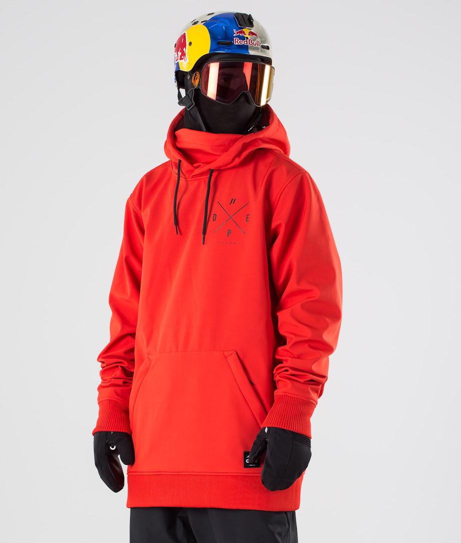 Dope JT Yeti Ski Jacket Red