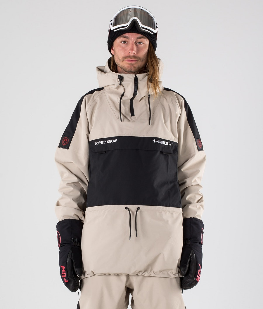 Dope KB Annok Snowboard jas Sand Black