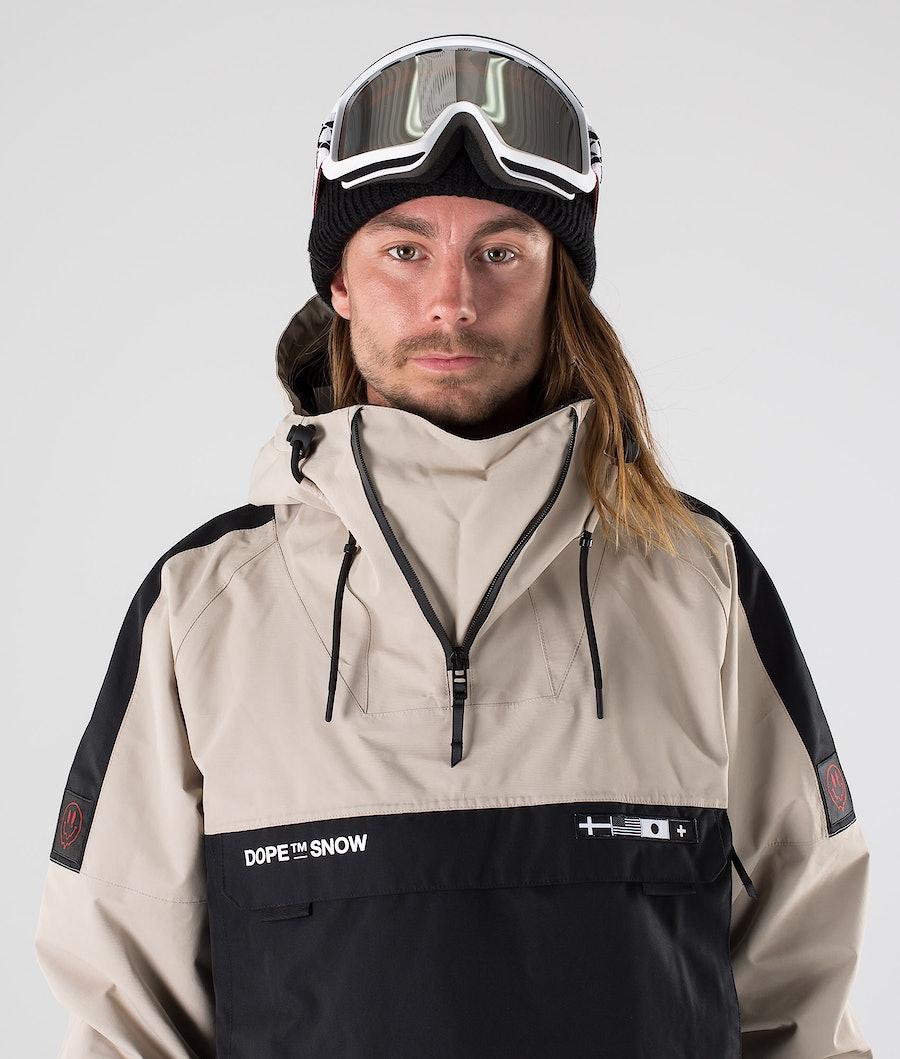 Dope KB Annok Snowboard Jacket Sand Black