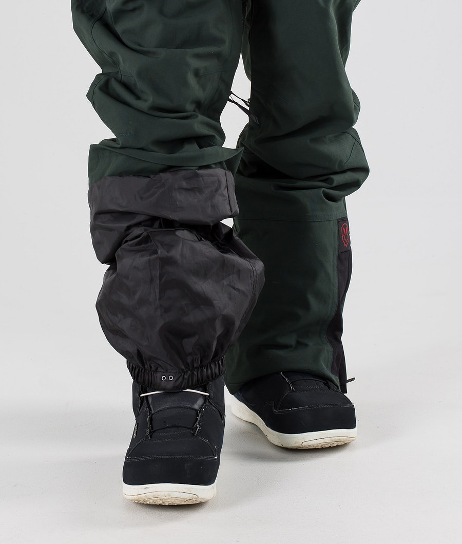 Dope Notorious KB Snowboard Pants Green Black