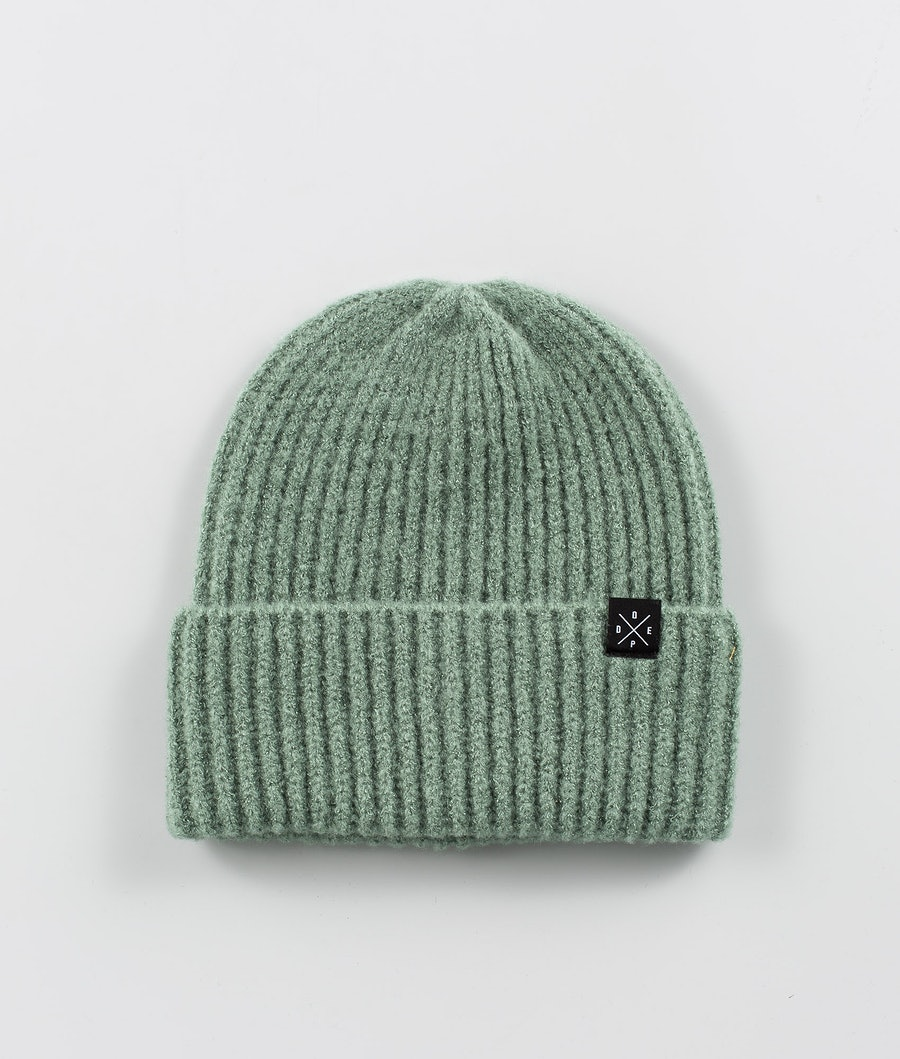Dope Chunky Gorro Faded Green