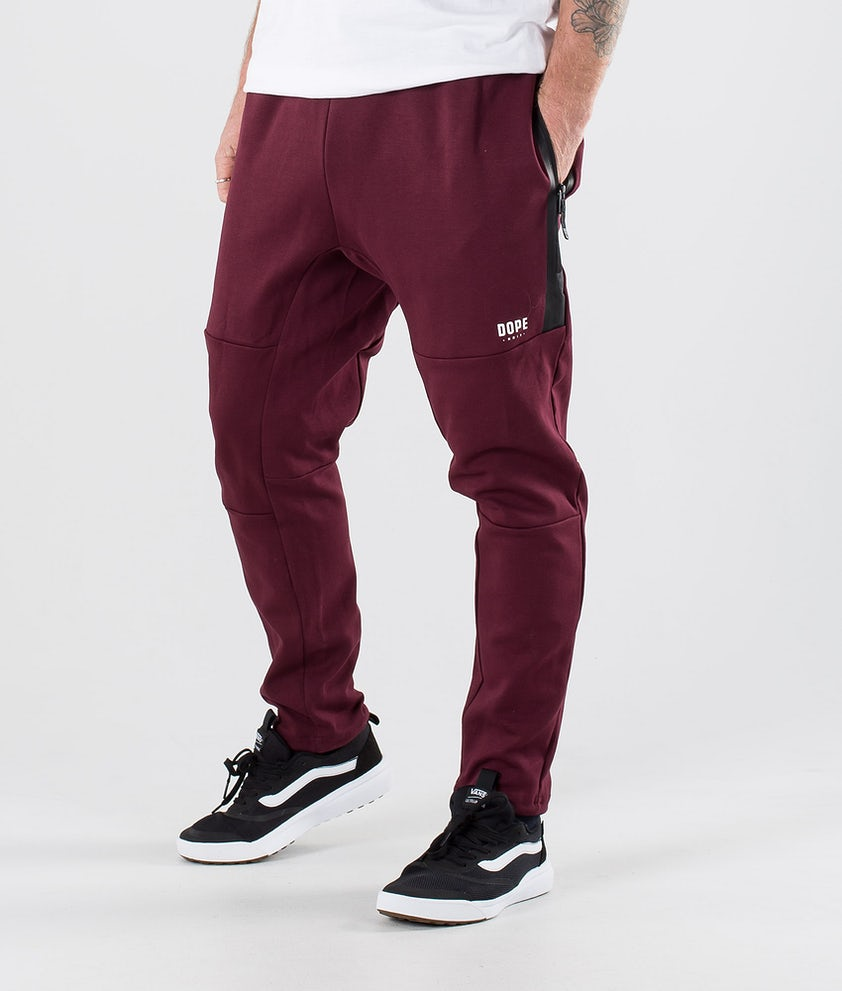 Dope Ronin Pants Burgundy