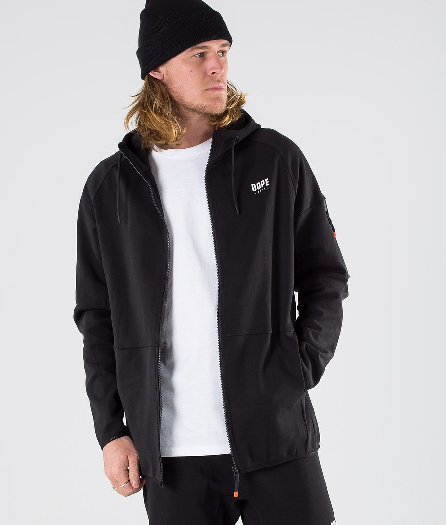 Dope Ronin Zip Sweats à capuche Black