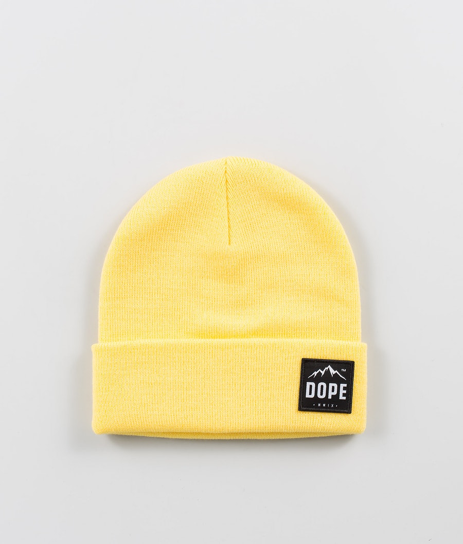 Dope Paradise Berretto Yellow