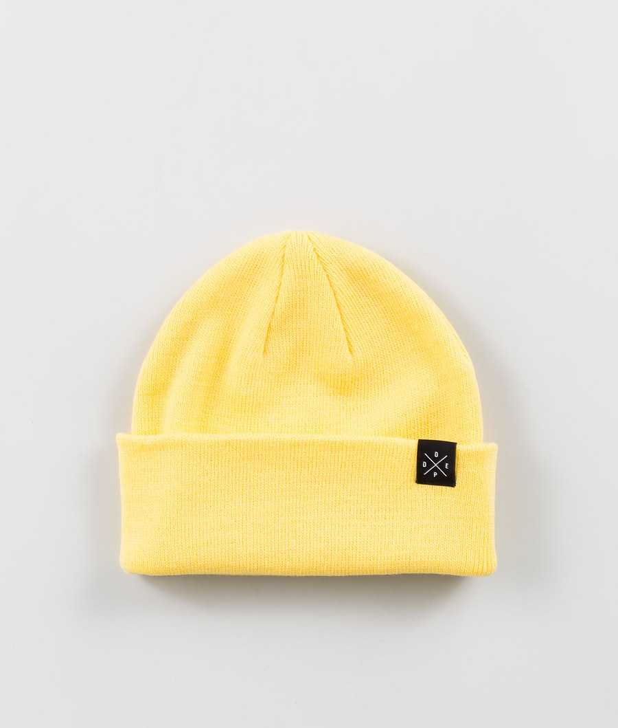 Dope Solitude Beanie Faded Yellow
