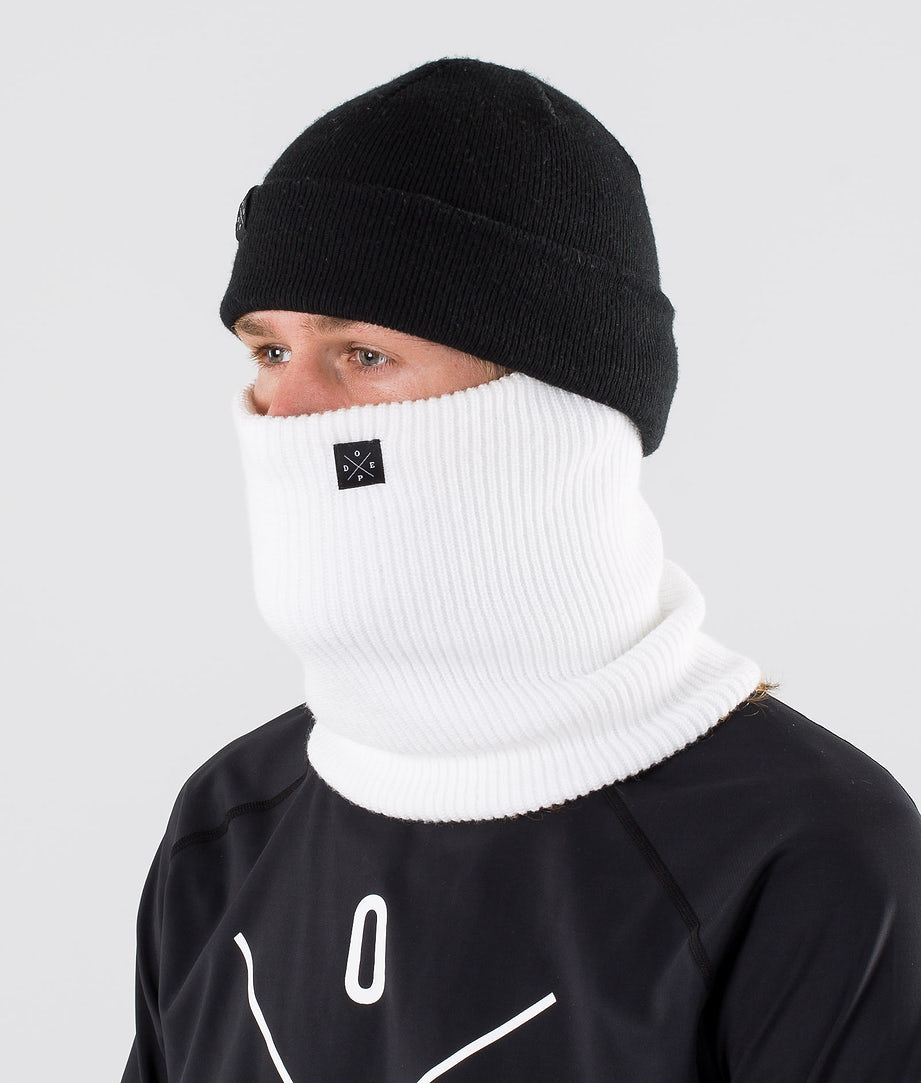 Dope 2X-UP Knitted Skimaske Optic White