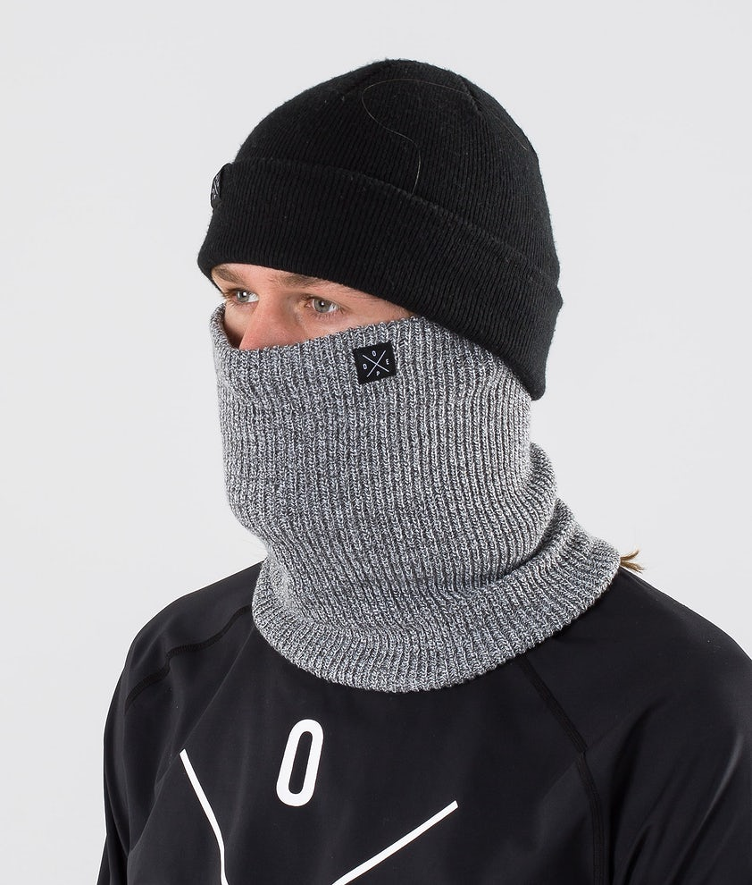 Dope 2X-UP Knitted Ansiktsmask Grey Melange